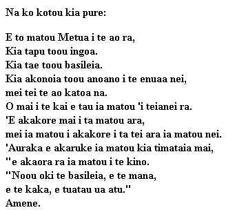 Cook Islands Maori Bible